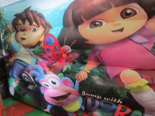 Jump with Dora & Diego Jumping Castle