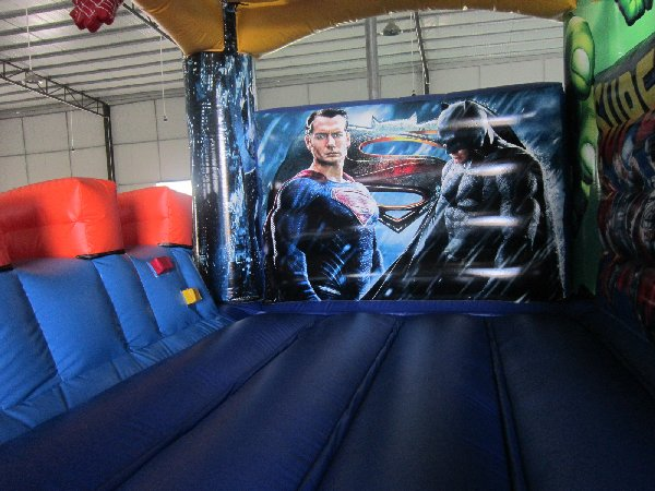 Super Heroes Jumping Castle