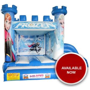 Junior Frozen Combo Jumping Castle