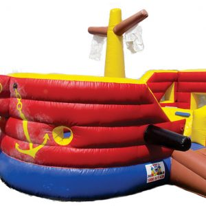 Pirate Ship Jumping Castle